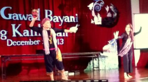Pangalay choreography to an original composition provided a dramatic finale to the awards ceremonies.