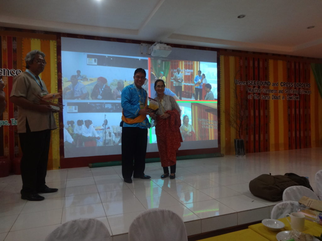 DECEMBER [lfa RECEIVES plaque of appreciation from MSU  chancellor atty lorenzo reyes