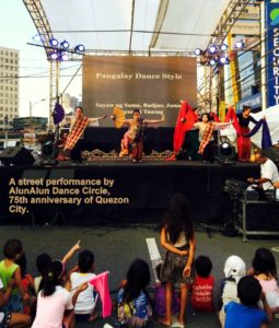 QC 75th anniversary 2015 adc street performance