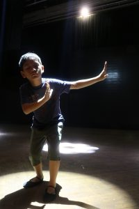 Phoenix L. Tajonera was the youngest member of the team who danced in Water Symohony, the Asiam tour.