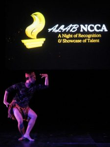 Jimo Angeles performs tawti in ALAB NCCA.