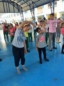 Likahng Sining Bayan: pangalay workshop sponsored by NCCA at Kalumpang Elementary School